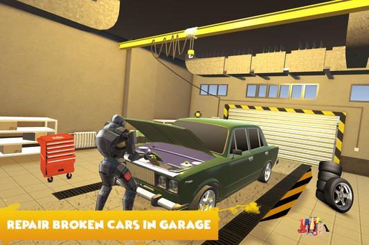 Robot Car Mechanic Simulator apk screenshot