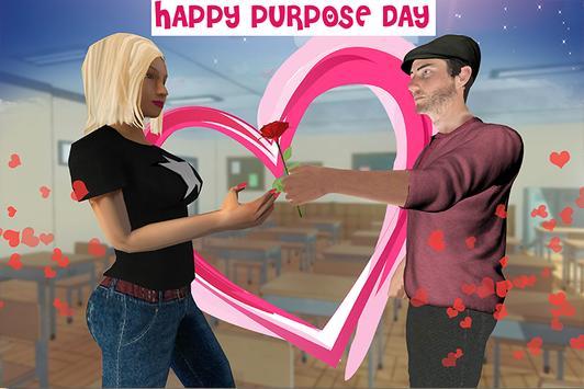 Virtual High school Girlfriend 3D screenshot 1