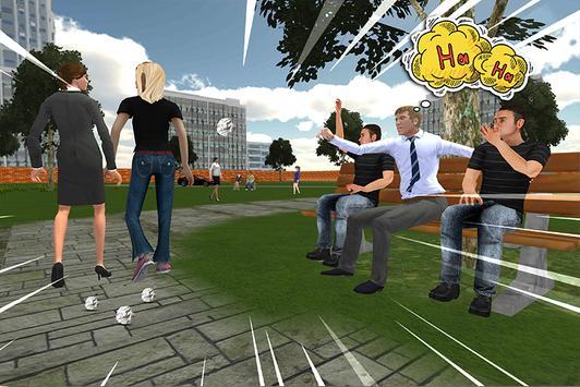 Virtual High school Girlfriend 3D screenshot 4