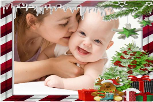 Christmas Photo Frames App poster
