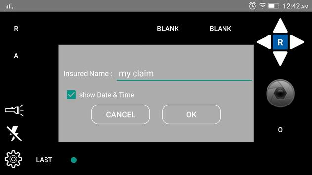 ClaimMate Claims Camera apk screenshot