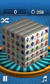 Mahjong Cubes apk screenshot