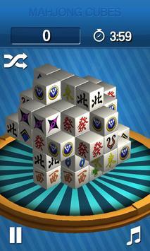 Mahjong Cubes poster