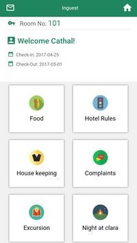 Clara Hotel apk screenshot