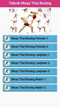 Muay Thai Boxing poster