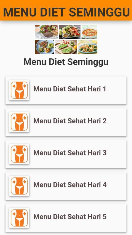 Makanan Diet Seminggu