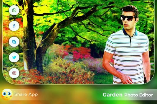 Garden Photo Editor screenshot 4