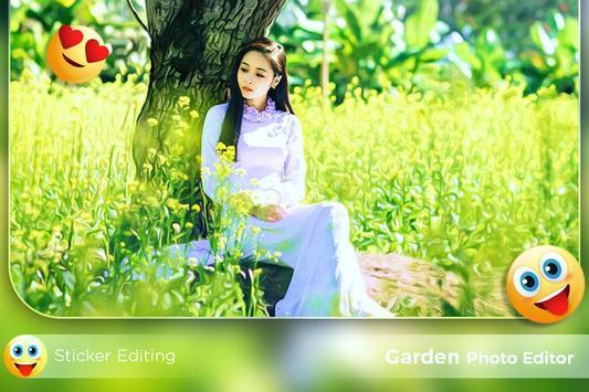Garden Photo Editor poster
