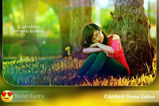 Garden Photo Editor screenshot 1