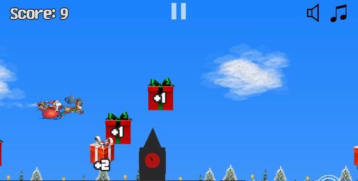 Jeu Pere Noel Plane screenshot 3