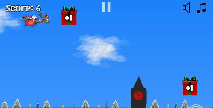 Jeu Pere Noel Plane screenshot 2