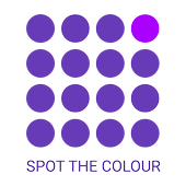 Spot the color: Find odd color | Eye Test icon