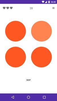 Spot the color: Find odd color | Eye Test poster