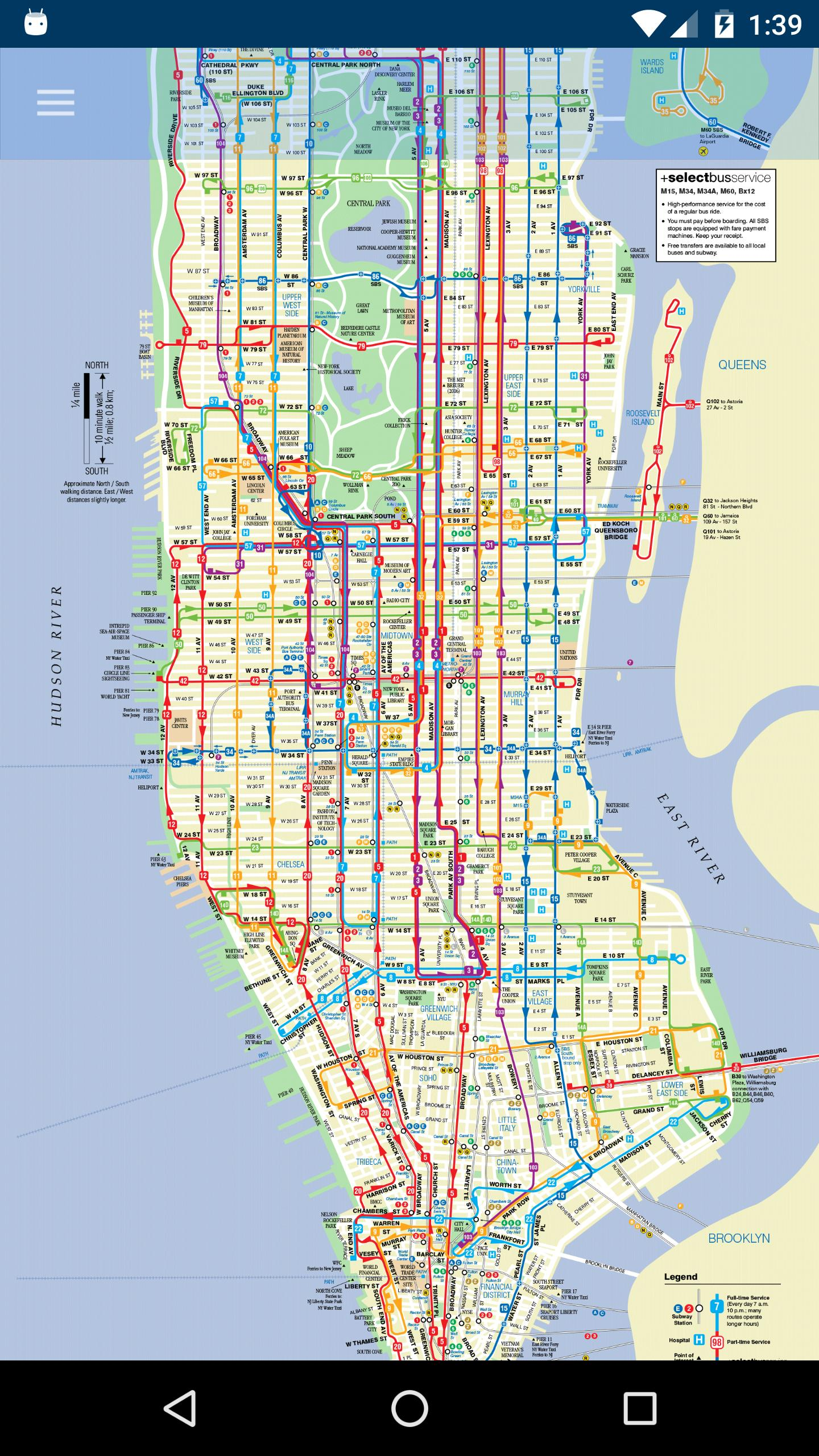 Map New York Offline.New York Subway Bus Maps Offline Nyc Mta For Android Apk Download