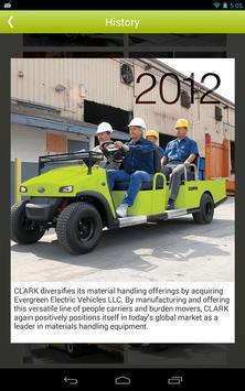 CLARK Material Handling Co. apk screenshot