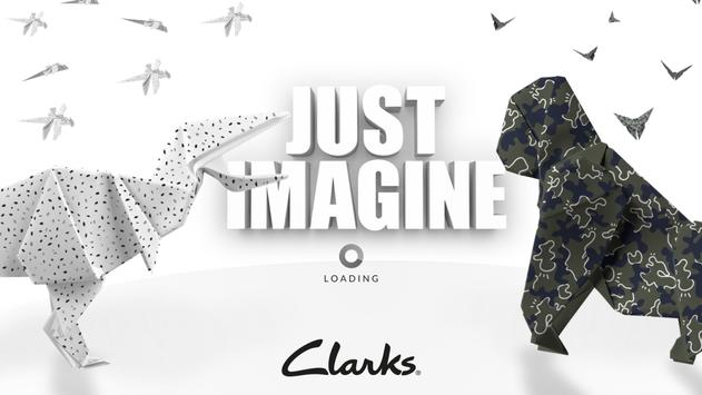 Clarks Just Imagine poster