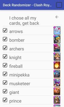 Random Decks For Clash Royale screenshot 1