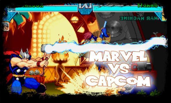 Marvel vs Capcom - Hero Clash Poster