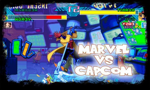 Marvel vs Capcom - Hero Clash captura de pantalla 1