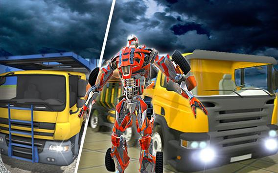 X Robot Transport Big Truck screenshot 6