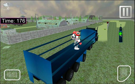X Robot Transport Big Truck screenshot 9