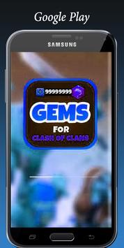 Gems For Clash of Royale joke poster