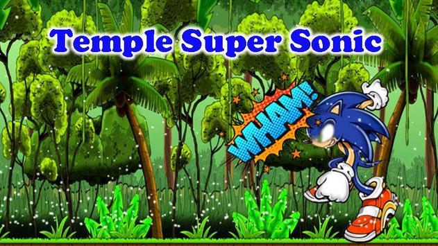 Temple Super Sonic Run poster