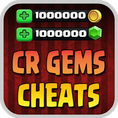 Cheats For Clash Royale Gems icon
