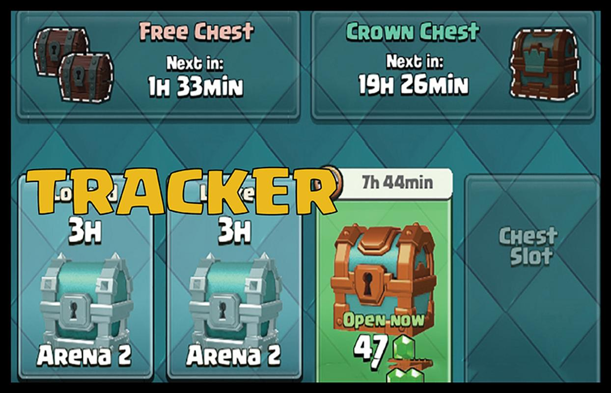 stats royale chest tracker how to use