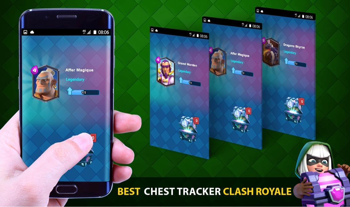 New Chest Clash Royal Free poster
