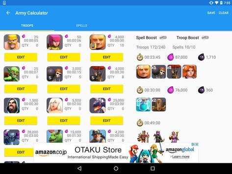 ToolKit for Clash of Clans imagem de tela 9