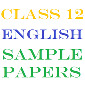 Class 12 English Sample Papers icon