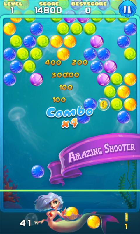 New Bubble Game - Play online at