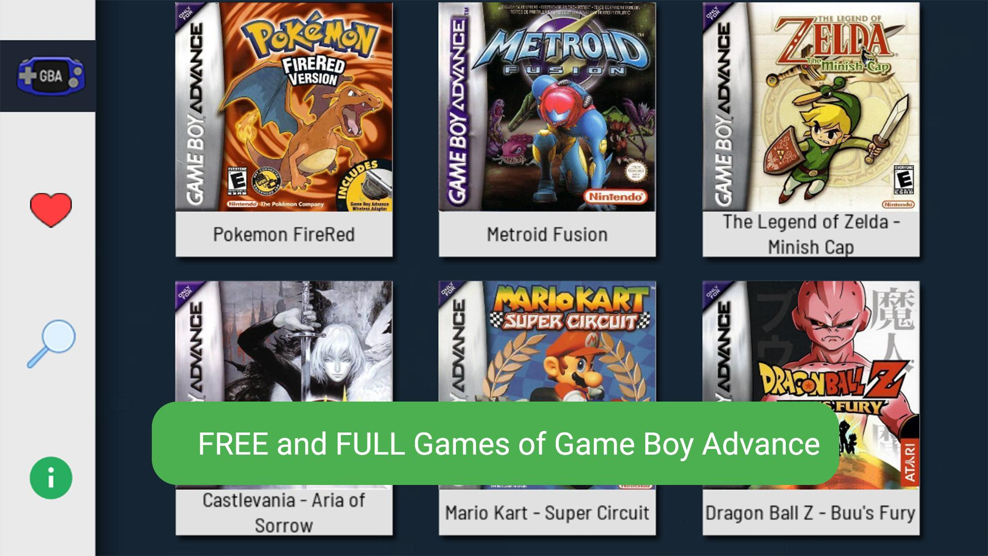 free download games for gameboy advance emulator