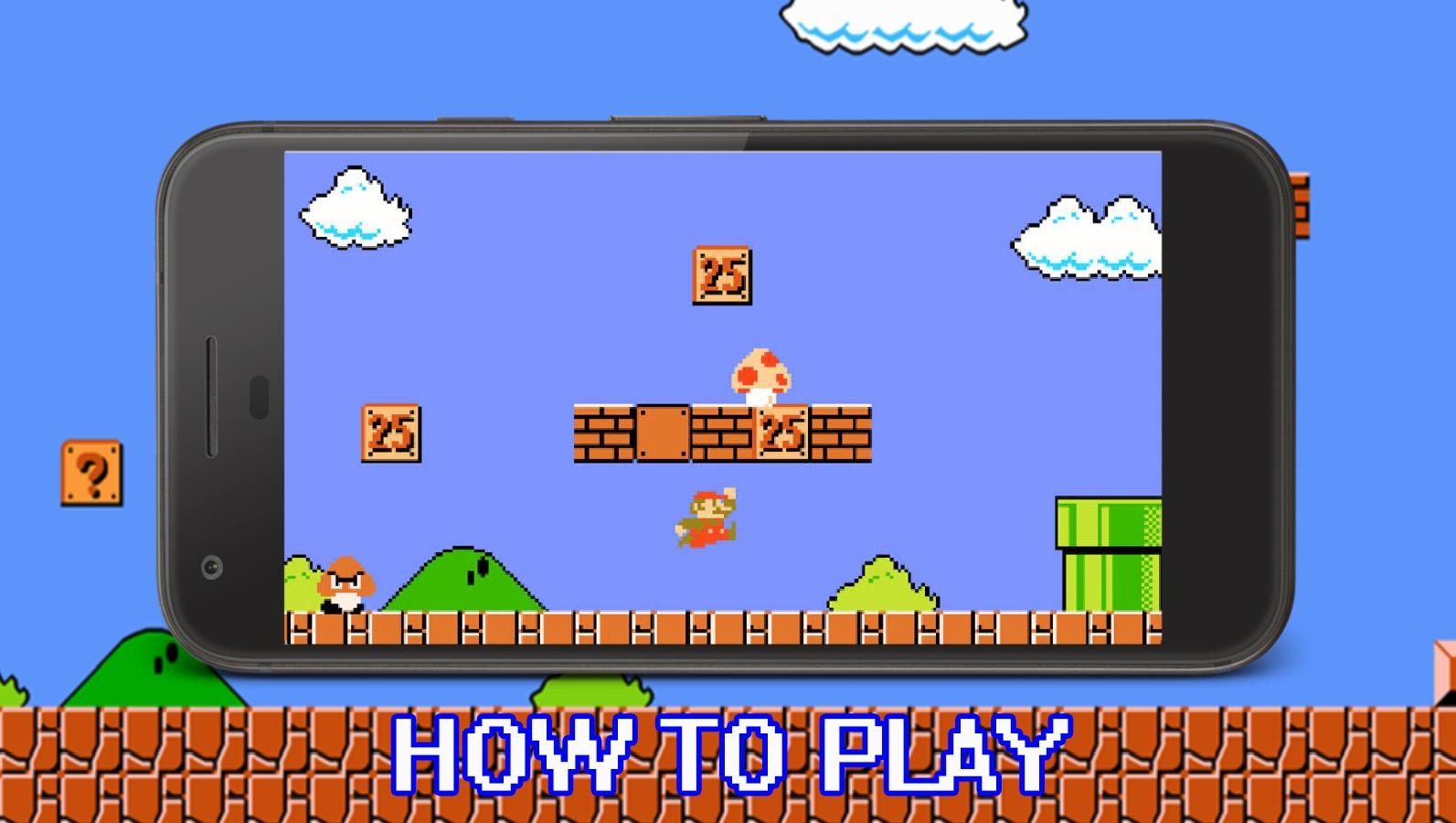 Super Mario Bros - Best Guide Trick and Tip for Android
