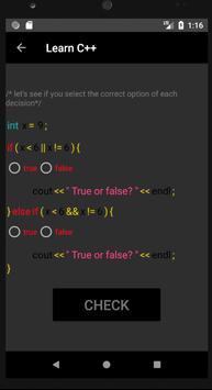 Learn C++ screenshot 4