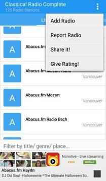 Classical Radio Complete screenshot 2