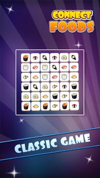 Connect Foods: Onet Connect Foods Classic Free screenshot 1