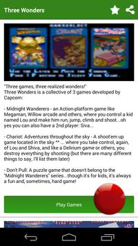 ♣Game for Three Wonders poster
