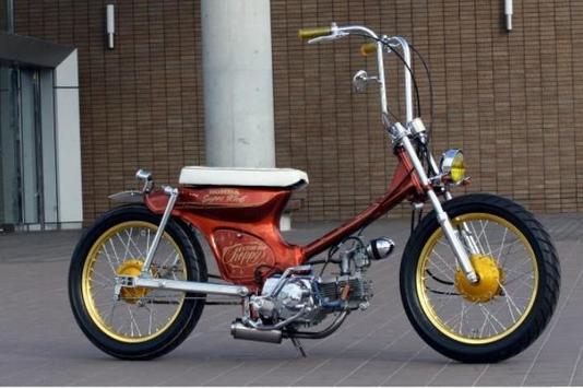 Classic motorcycle design screenshot 1