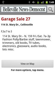 Belleville Garage Sales screenshot 2