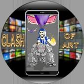 Clash Of Art Wallpaper HD icon