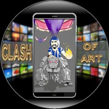 Clash Of Art Wallpaper HD apk screenshot