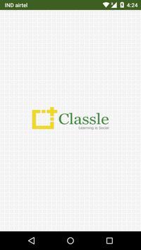 Classle Slate poster