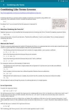FTIS Learning Link screenshot 11