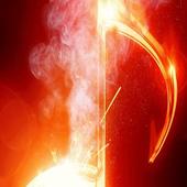 Music in smoke Live Wallpaper icon