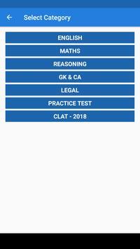 Clat Exam apk screenshot
