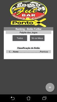 Bolão Ponto X screenshot 1
