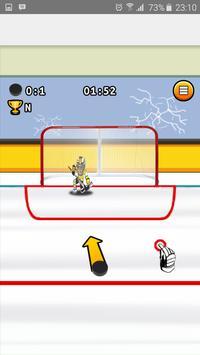 SlapShot Ice Hockey Shooter screenshot 1