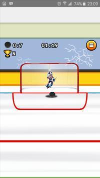 SlapShot Ice Hockey Shooter screenshot 2